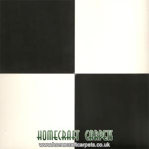 Echiquier Black & White Checkered Vinyl