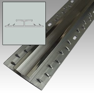 Silver Aluminium Carpet Door Bar