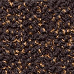 Bourbon - Brown with orange fleck carpet tile