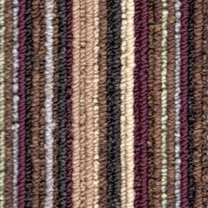 Damson Contemporary Stripe