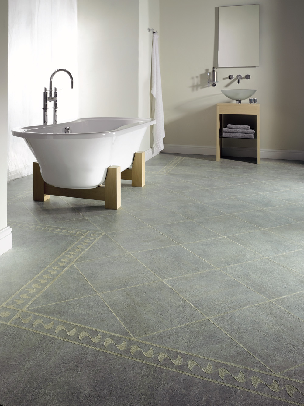 Karndean In Bathrooms Homecraft Carpets