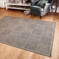 Check Flat Weave Rug Collection