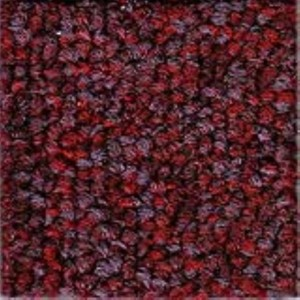 Claret Precision II Carpet Tile
