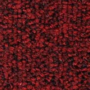 Red Precision II Carpet Tile