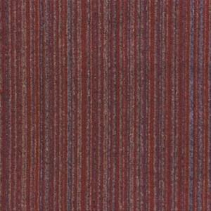 Red Velvet Illusion Carpet Tile