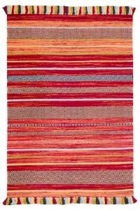 Red Stripe Kelim Rug Collection