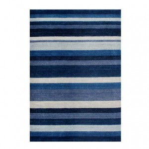 Stripes Blue - Winslow Rug Collection