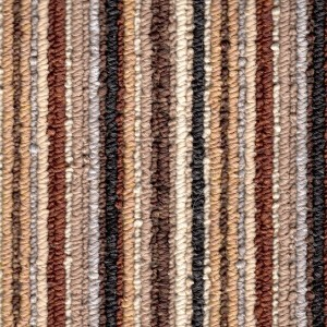 Toffee Striped Lifestyle Carpet